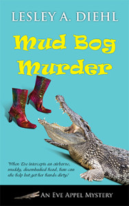 Mud Bog Murder, Lesley A. Diehl, Mystery, Eve Appel