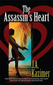 The Assassin's Heart, J.A. Kazimer, Romance, Assassin's Series, Hannah Winslow
