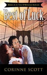 Best of Luck, Corinne Scott, O'Brien, Romance, Suspense