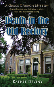Death in the Old Rectory, Kathie Deviny, Grace Church, Seattle, Mystery