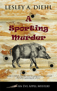 A Sporting Murder, Lesley A. Diehl, Eve Appel, Mystery