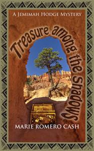 Treasure among the Shadows, Marie Romero Cash, Jemimah Hodge, Mystery