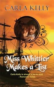 Miss Whittier Makes a List, Carla Kelly, Regency, Romance