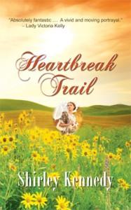 Heartbreak Trail, Shirley Kennedy, Historical, Romance