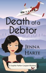 Death of a Debtor, Jenna Harte, Mystery, Sophie Parker Coupon